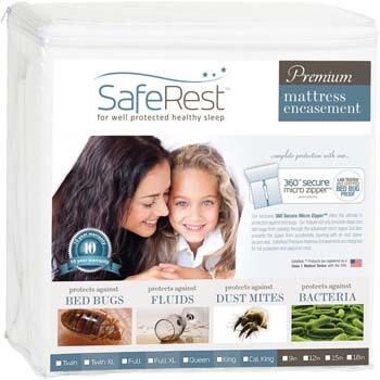 6. SafeRest Mattress Encasements