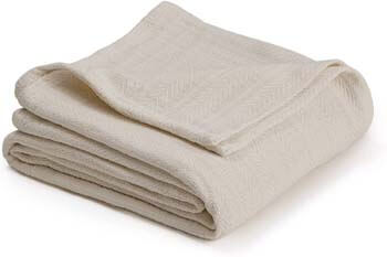 5. COTTON WOVEN BLANKET BY VELLUX
