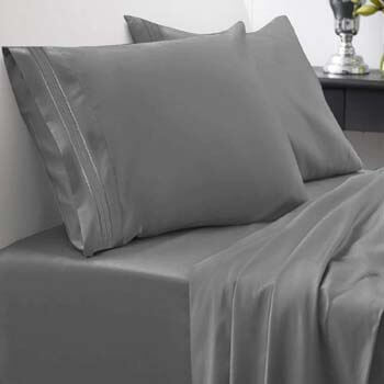 7. Sweet Home Collection Bed Sheet