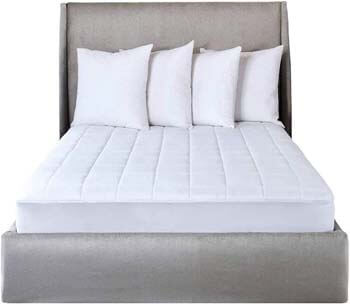 8. Sunbeam SelectTouch Premium Quilted Electric Heated Mattress Pad