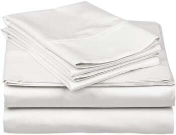 7. Egyptian Cotton Bed Sheets