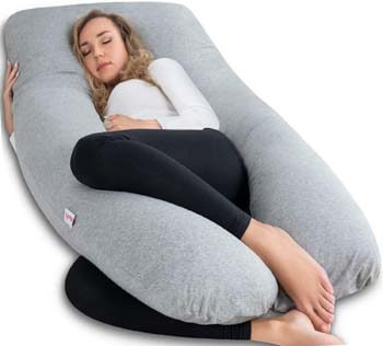 1. AngQi Pregnancy Pillow
