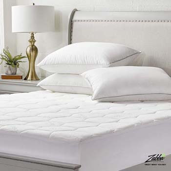 4. Cooling Mattress Cover for Queen: