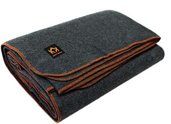 3. Arcturus Military Wool Blanket