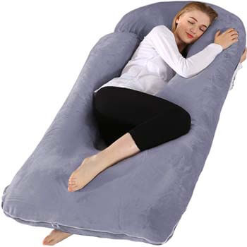 3. Chilling Home Pregnancy Pillow
