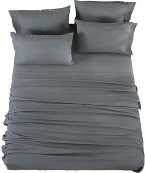 9. SONORO KATE Microfiber Sheet Sets