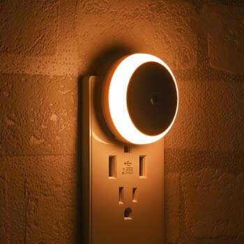 9. LED Night Light, with Dusk to Dawn Sensor, Diffused Light, Energy Efficient.