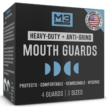 7. M3 Naturals Heavy Duty Mouth Guards