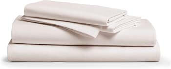 9. Egyptian Cotton Sheets Ivory King Size