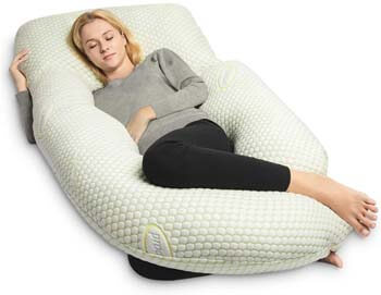 8. QUEEN ROSE Pregnancy Pillow