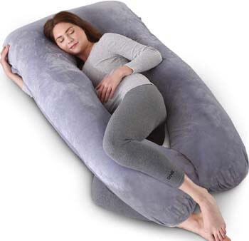 5. Kingta Pregnancy Pillow