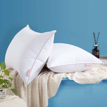6. HOMBYS Soft Bed Pillows