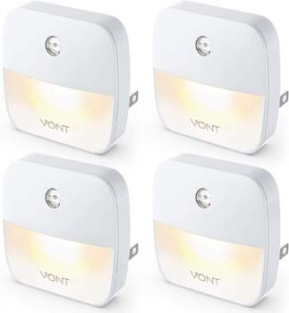 6. Vont 'Aura' LED Night Light (Plug-in) Super Smart Dusk to Dawn Sensor.